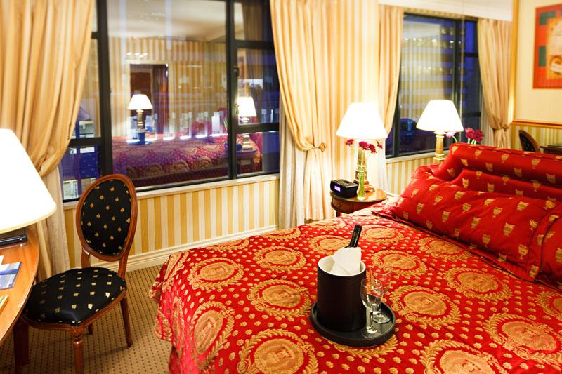 Hotel lesoleil room