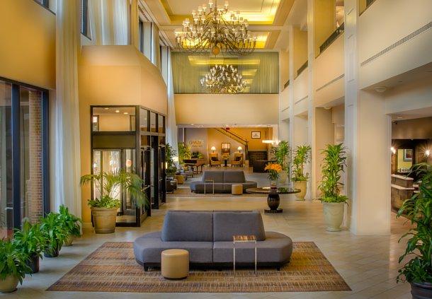 Marriott NC lobby